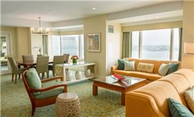 Admiral Suite At Seaport Hotel And World Trade Center Boston