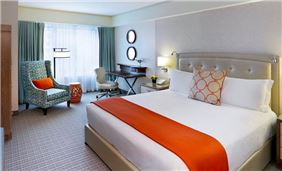 Premier Room One King Bed At Seaport Hotel And World Trade Center Boston