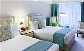 Premier Room Two Double Beds At Seaport Hotel And World Trade Center Boston