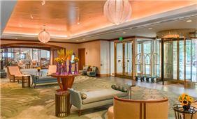 Lobby of Seaport Hotel & World Trade Center