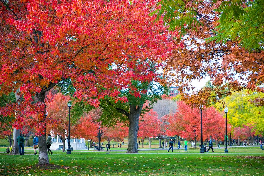 Boston Common, Massachusetts