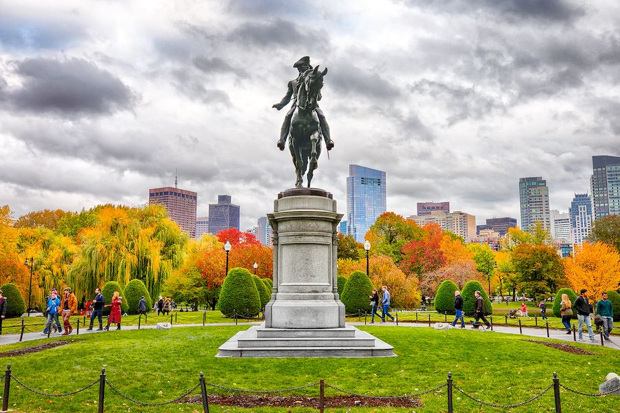 The Public Garden of Boston