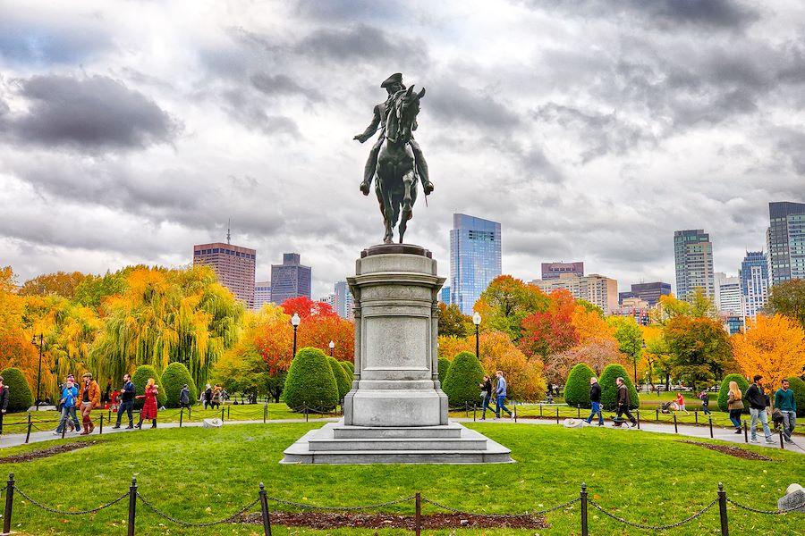 The Public Garden of Boston