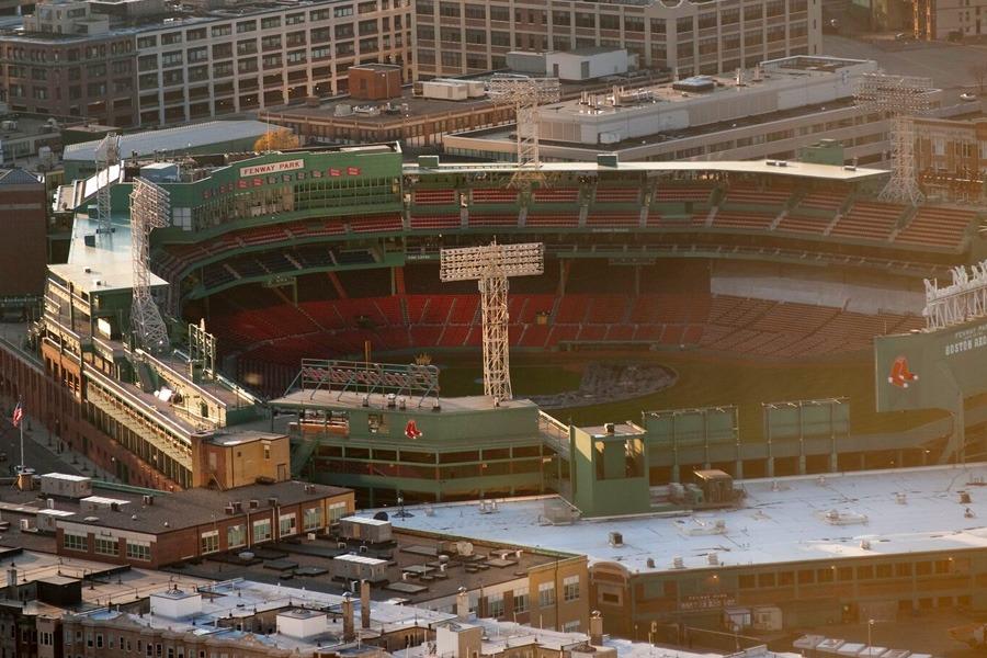 Fenway Park in Boston