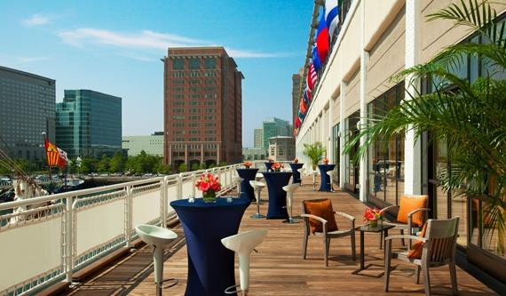 Seaport Hotel & World Trade Center, Boston Harborview Deck
