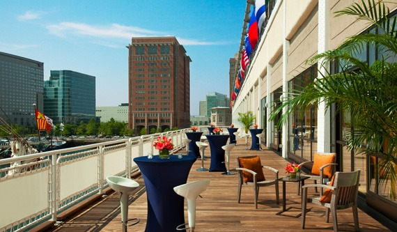Seaport Hotel & World Trade Center, Boston Weddings Venue - Harborview Deck