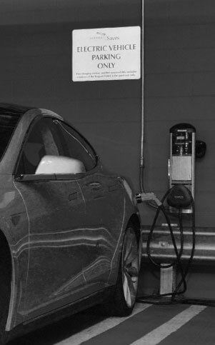 Free electric vehicle charging facility offered by Boston Hotel