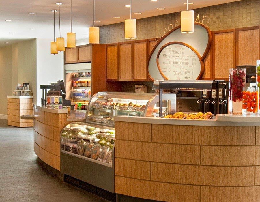 Seaport Café in Seaport Hotel & World Trade Center, Boston
