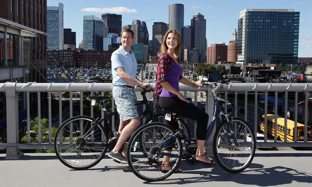 Bicycle Service At Seaport Hotel World Trade Center Boston Top