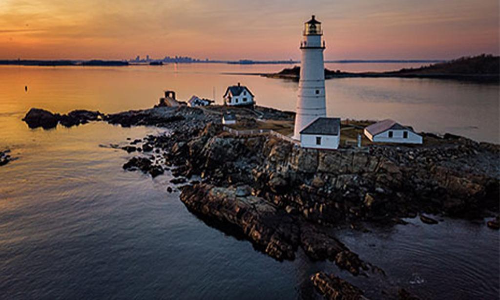 Boston Harbor Islands in Massachusetts