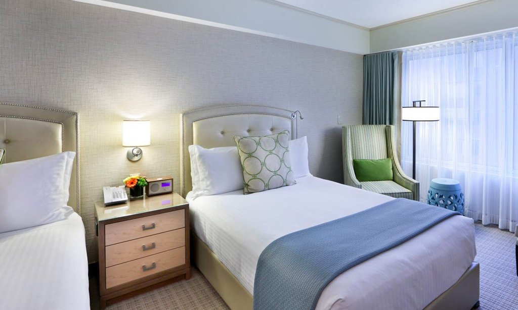 Seaport Hotel & World Trade Center, Boston Deluxe Room - Two Double Beds Accessible