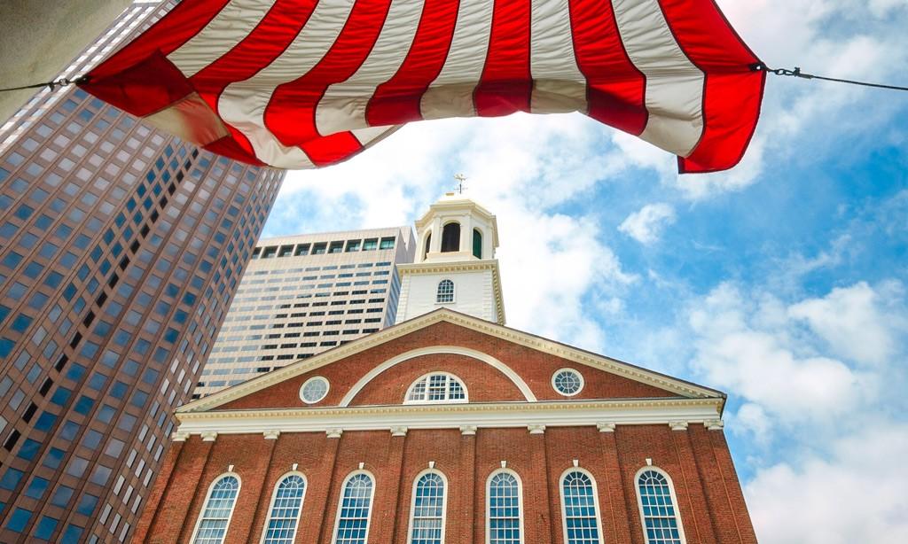 Faneuil Hall Marketplace in Massachusetts