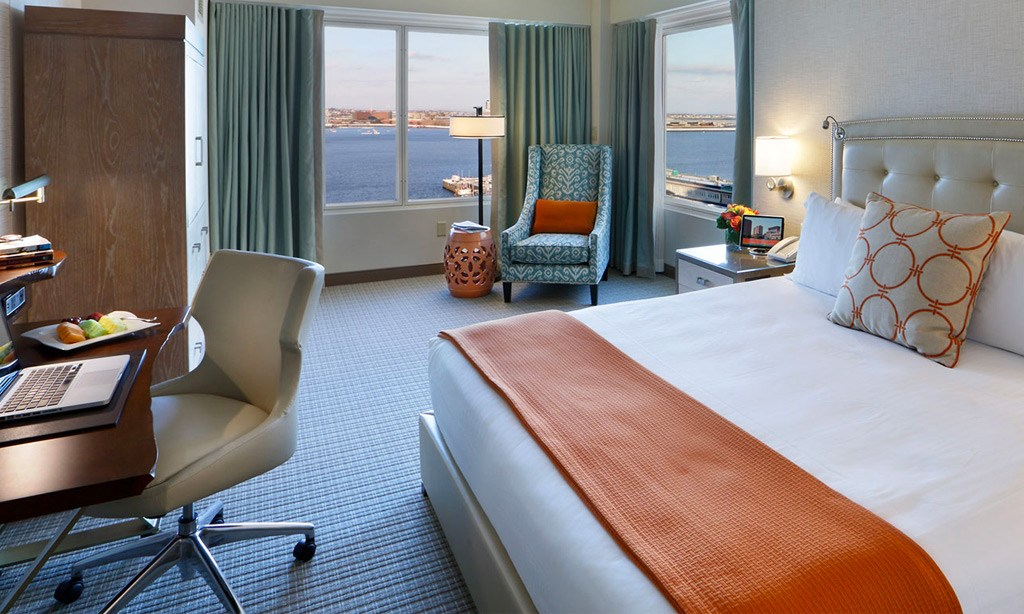 Harbor View Room - One King Bed in Seaport Hotel & World Trade Center, Boston