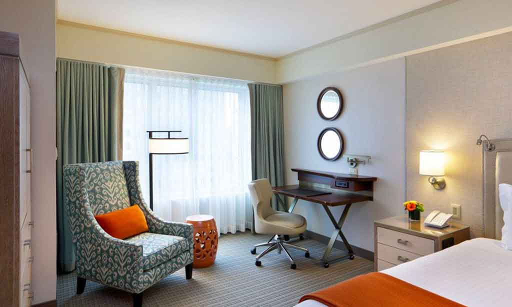 Premier Room - One King Bed in Seaport Hotel & World Trade Center, Boston