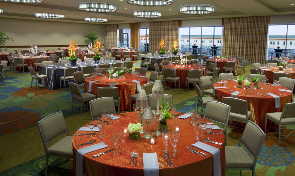 Seaport Hotel & World Trade Center, Boston Event Venue - Harborview Ballroom