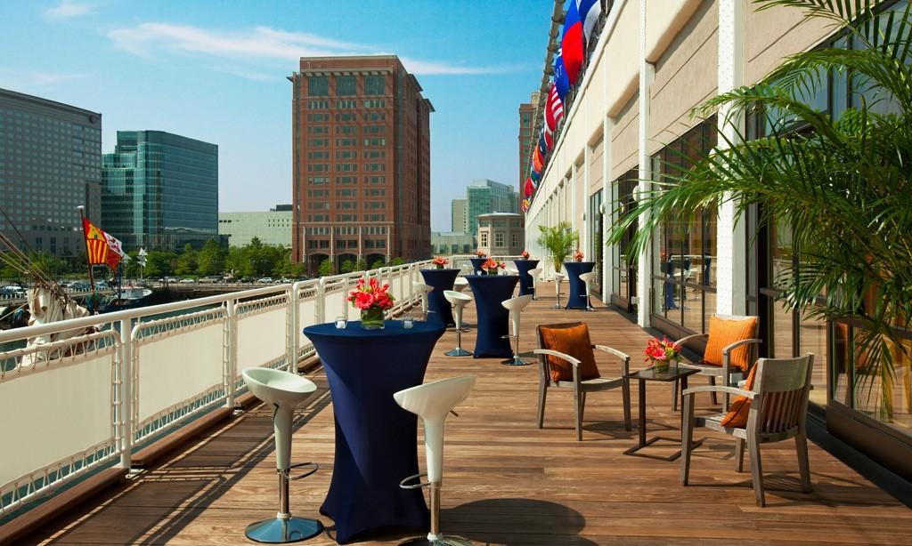 Seaport Hotel & World Trade Center, Boston Event Venue - Harborview Deck