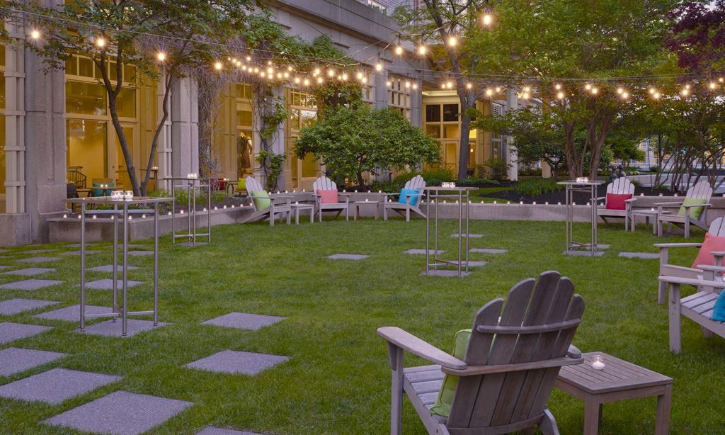 Seaport Hotel & World Trade Center, Boston Event Venue - Plaza Garden