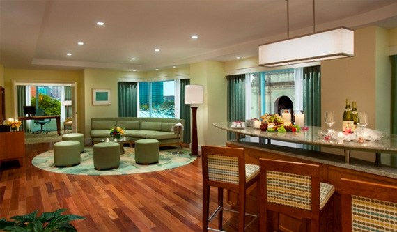 Hospitality Suite in Seaport Hotel & World Trade Center, Boston