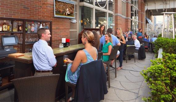 TAMO Terrace of Seaport Hotel & World Trade Center, Boston