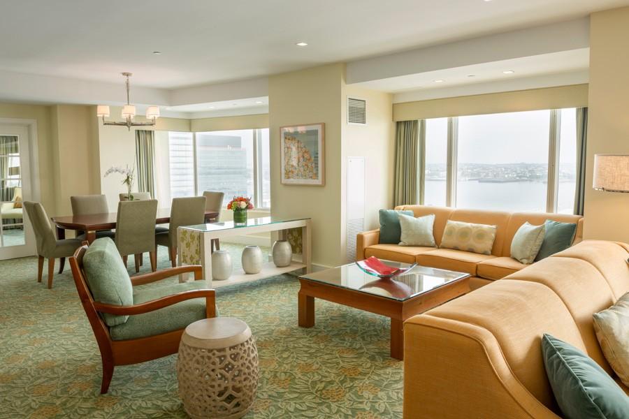 Admiral Suite in Seaport Hotel & World Trade Center, Boston
