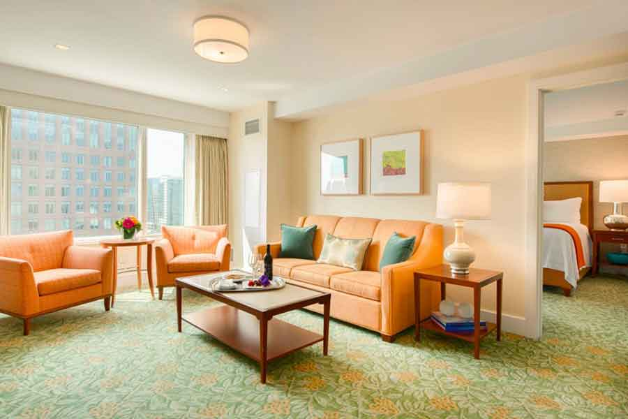 Luxe Suites at Seaport Hotel & World Trade Center, Boston