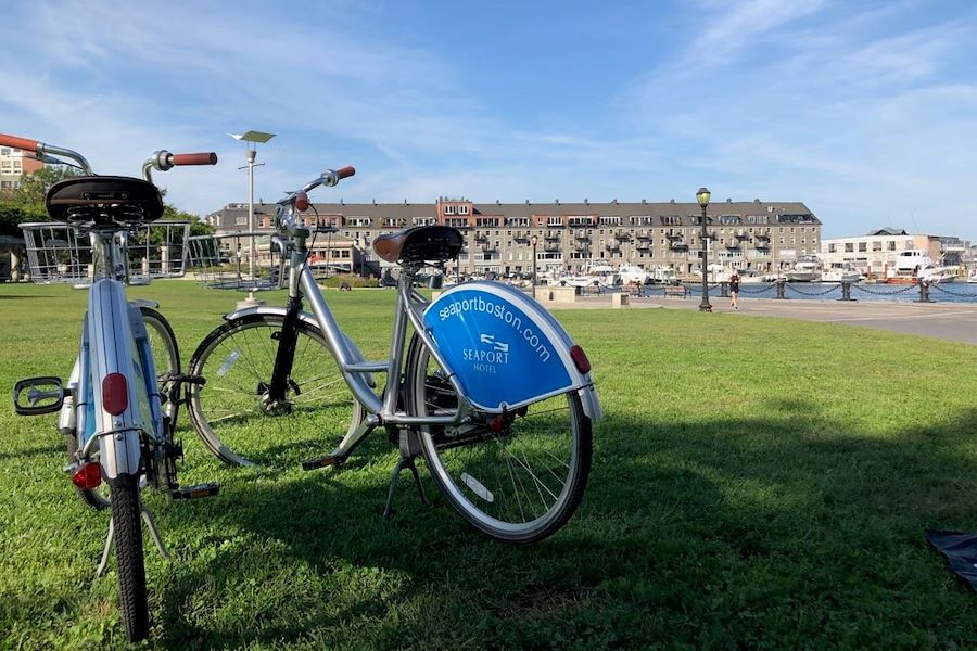 Seaport Hotel offers Complimentary Bicycles