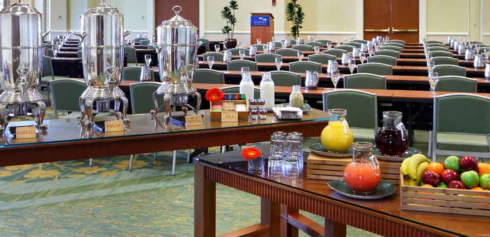 Catering Facilities Seaport Hotel & World Trade Center, Boston