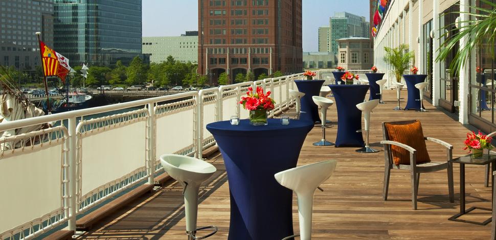 Seaport Hotel World Trade Center Boston Event Venues Harbor Deck